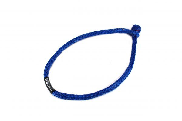 Blue Large Soft Shackle Tactical Recovery Equipment Synthetic Rope Blue Anchor Shackle