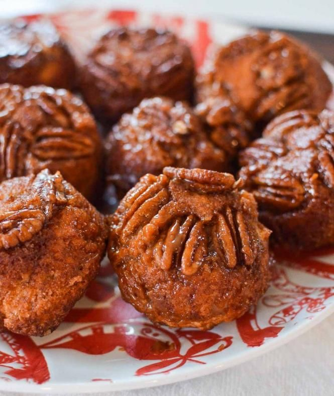 Caramel-Pecan Sticky Buns - I think I would add some grated carrot in ...