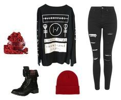 Twenty One Pilots, #1 by consumingfyr on Polyvore featuring art