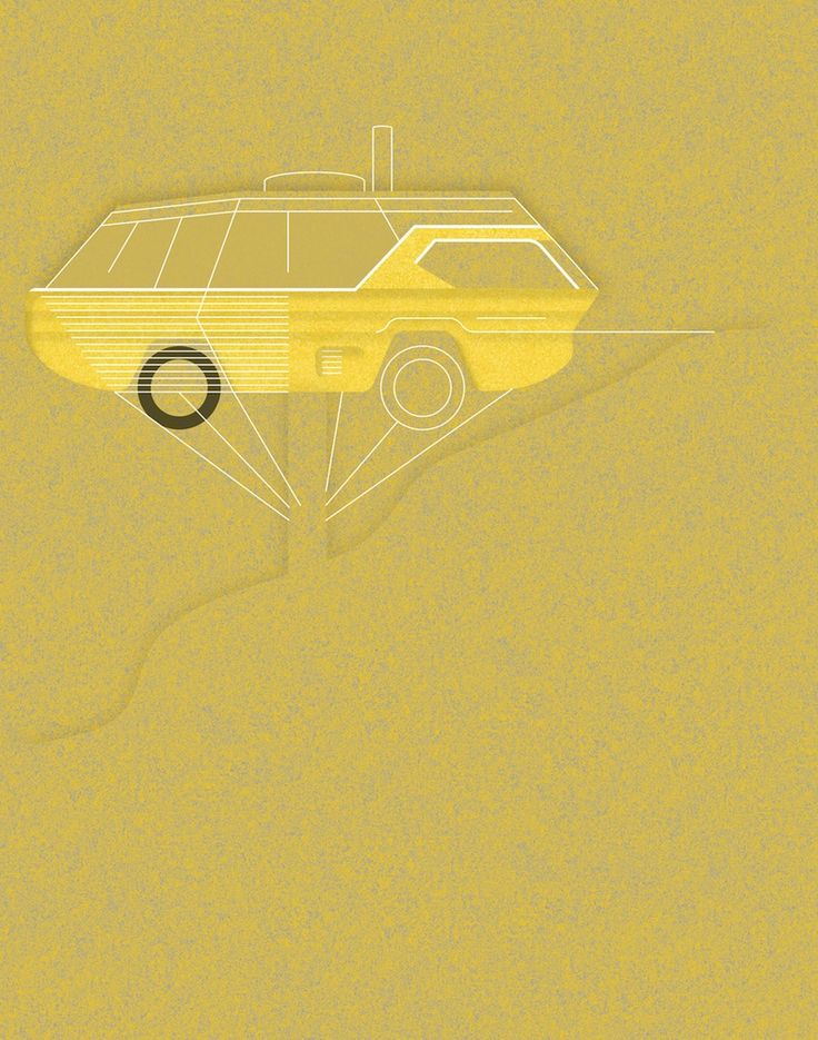 Dodge Deora, 1967 x John Lautner, Chemosphere, 1960