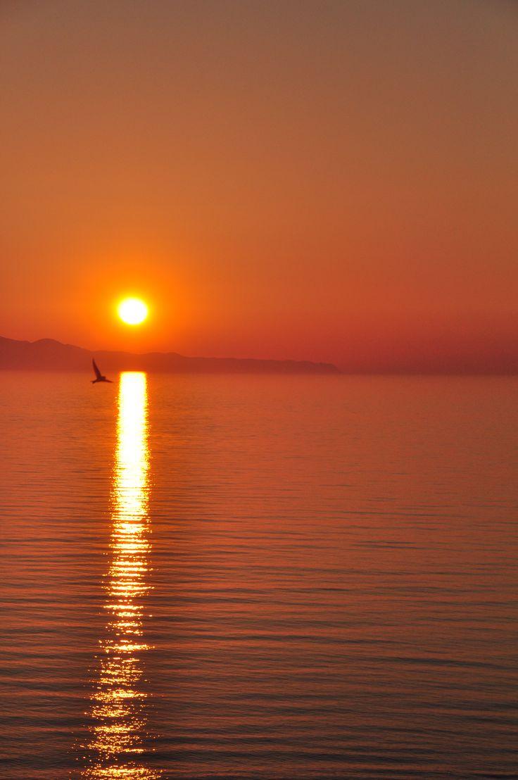 Dream, hope, believe. #DelfinoBlu #Corfu #Sunset