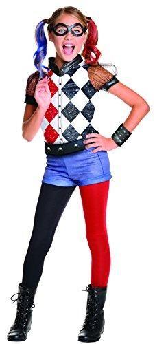 Rubie's DC Superhero Girl's Harley Quinn Halloween Costume, Large