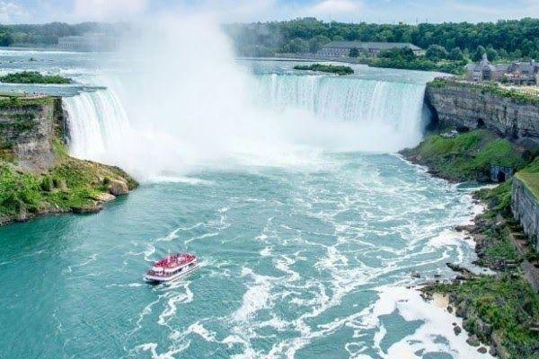 Pemandangan Paling Keren Di 2020 Pemandangan Niagara Falls Air Terjun Niagara