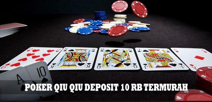 Poker Qiu Qiu Deposit 10rb Termurah Kartu Remi Blackjack Permainan Kartu