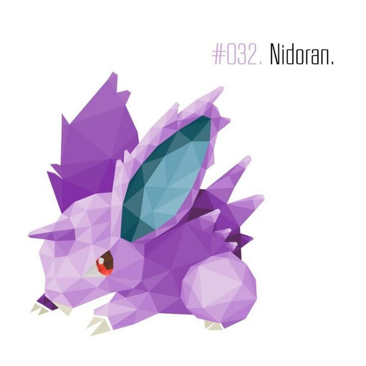 Nidoran   Pokemon   Pinterest