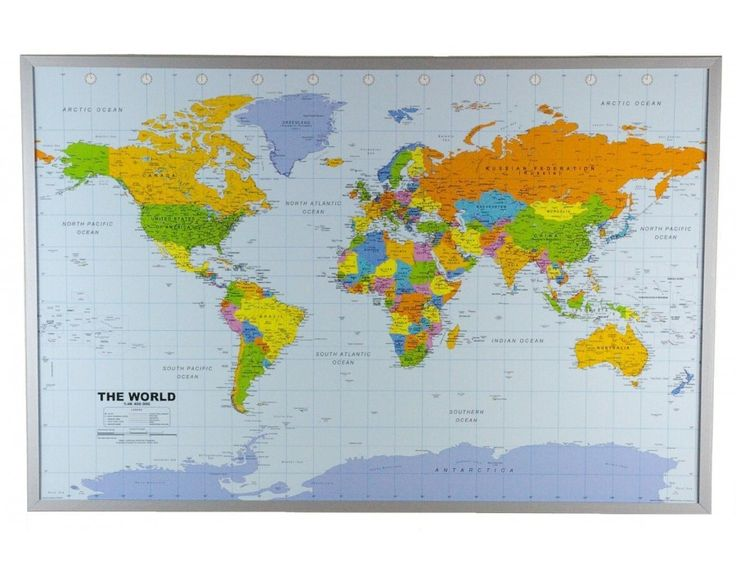 17 Best images about World Map on Pinterest Wall maps Country maps and Wor