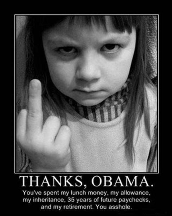 Thanks, Obama!   Know Your Meme