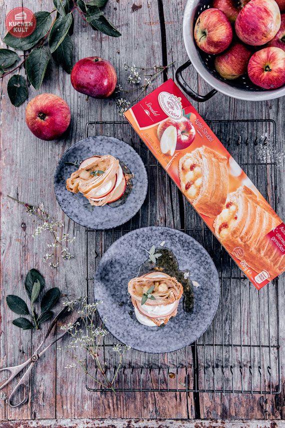 Einfache Rezepte Ideen Apfelstrudel Coppenrath & Wiese als Dessert