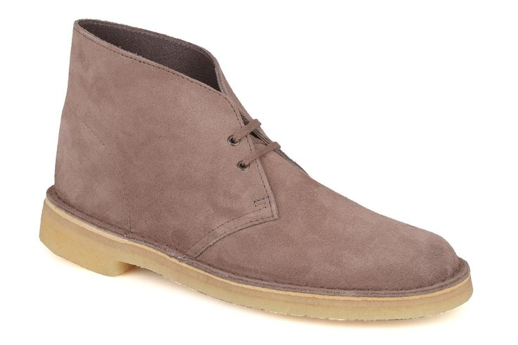 Desert Boot in mink suede