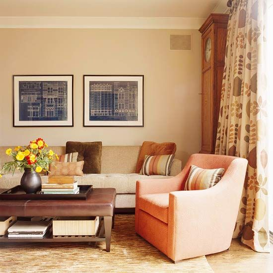 Tips On Blending Great Colors With Beige: Decorating With Color: Expert Tips