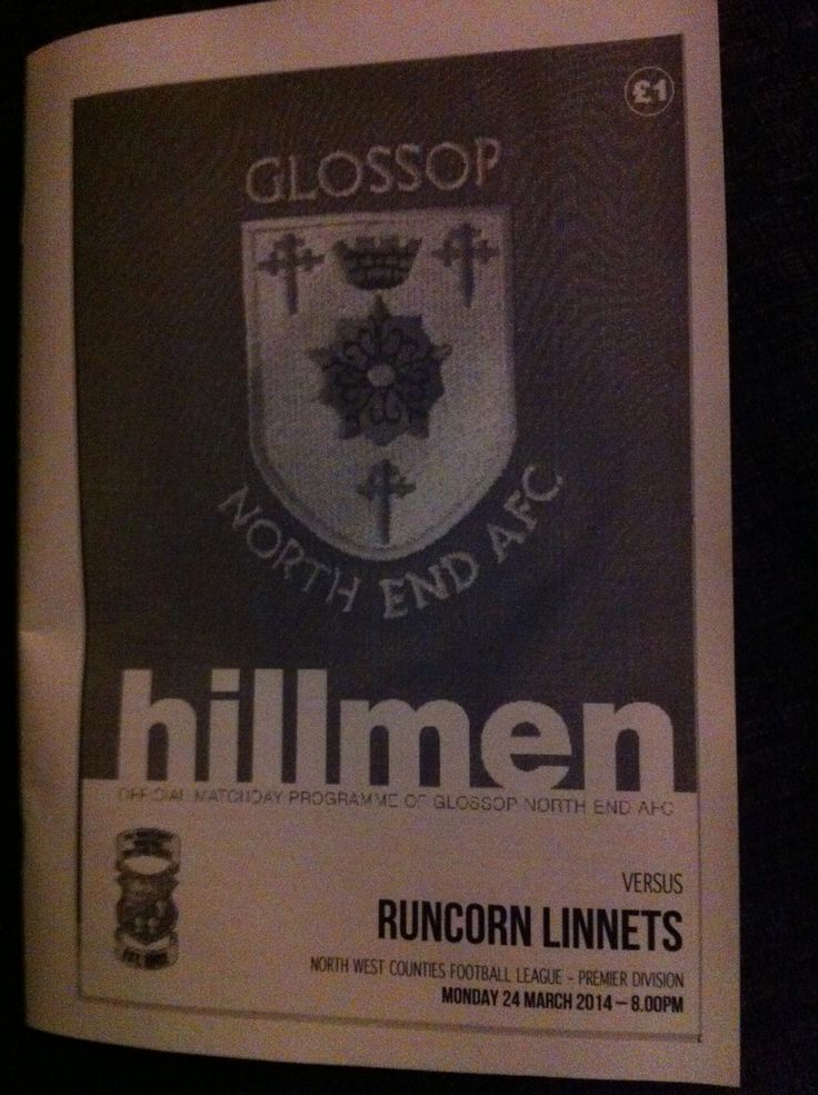 Glossop North End v Runcorn Linnets