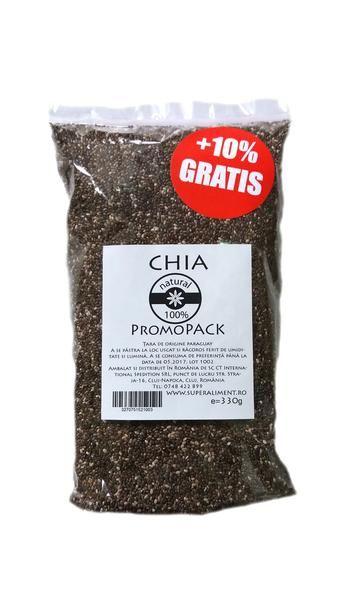 Chia seeds, 330 gr. - crazybanana.eu