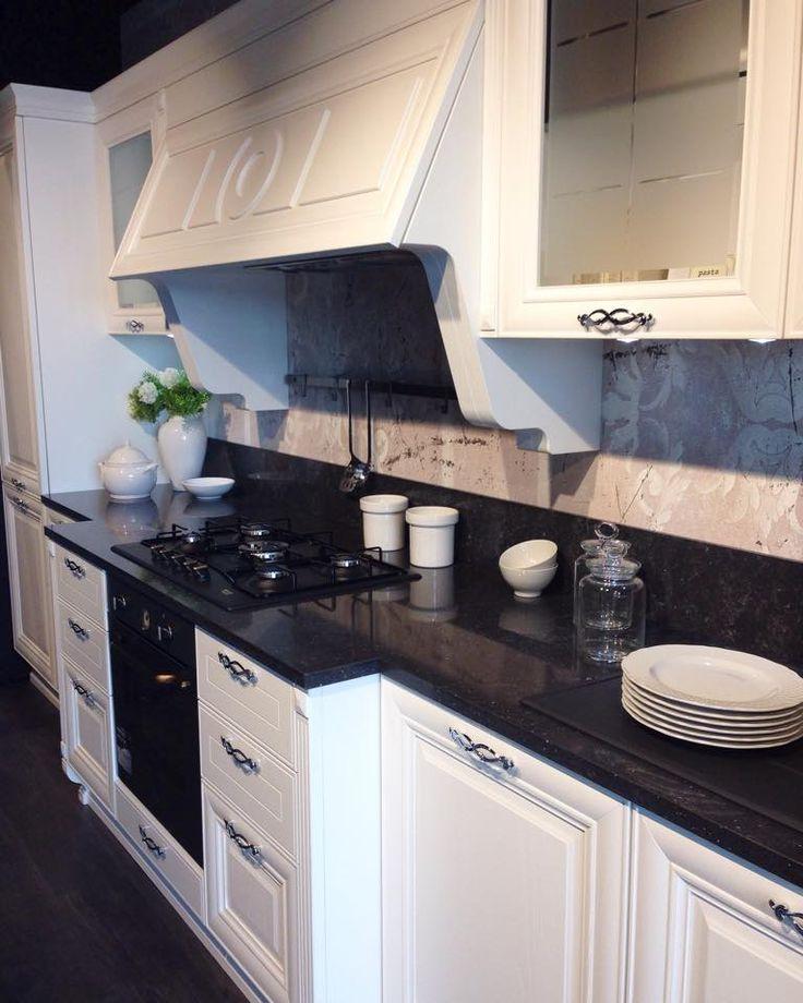 immagini dal nostro lubestorebrescia cucina modello pantheon bianca con top