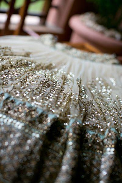 A Pastel Sabyasachi Bridal Lehenga for Bride Divya