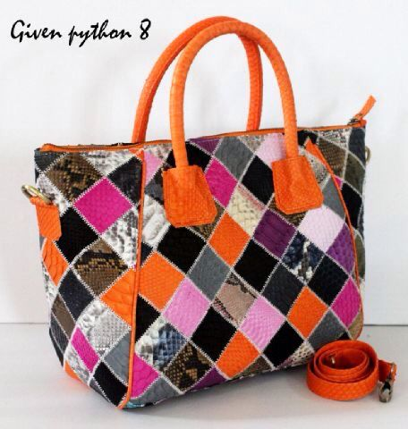 Python leather patches handbag .... Come in different color. How n where to buy?? Simply add facebook Balinesian Ethnic Purses