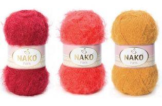 Włóczki akrylowe do róbótek na drutach i szydełku NAKO