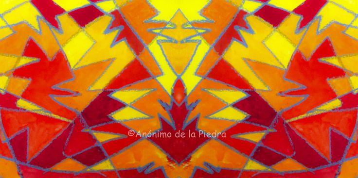 Veladura ígnea Author : Anónimo de la Piedra