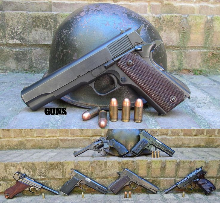 300+ Best Images About WWI & WWII Pistols & Revolvers On