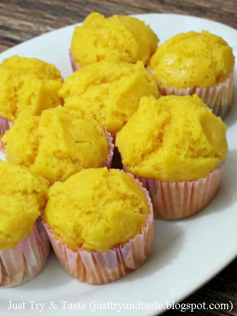 Just Try & Taste: Kue Mangkuk Ubi Kuning