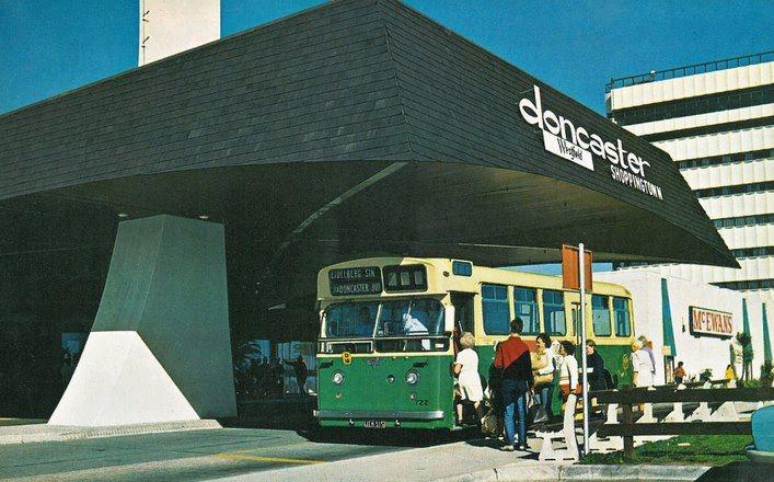 Doncaster Shoppingtown, 1970's.