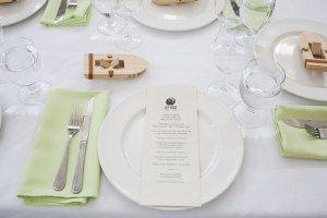 Wedding Photography by Lorena Astrid - Wedding Reception - Penticton - Joy Road Catering - Menu