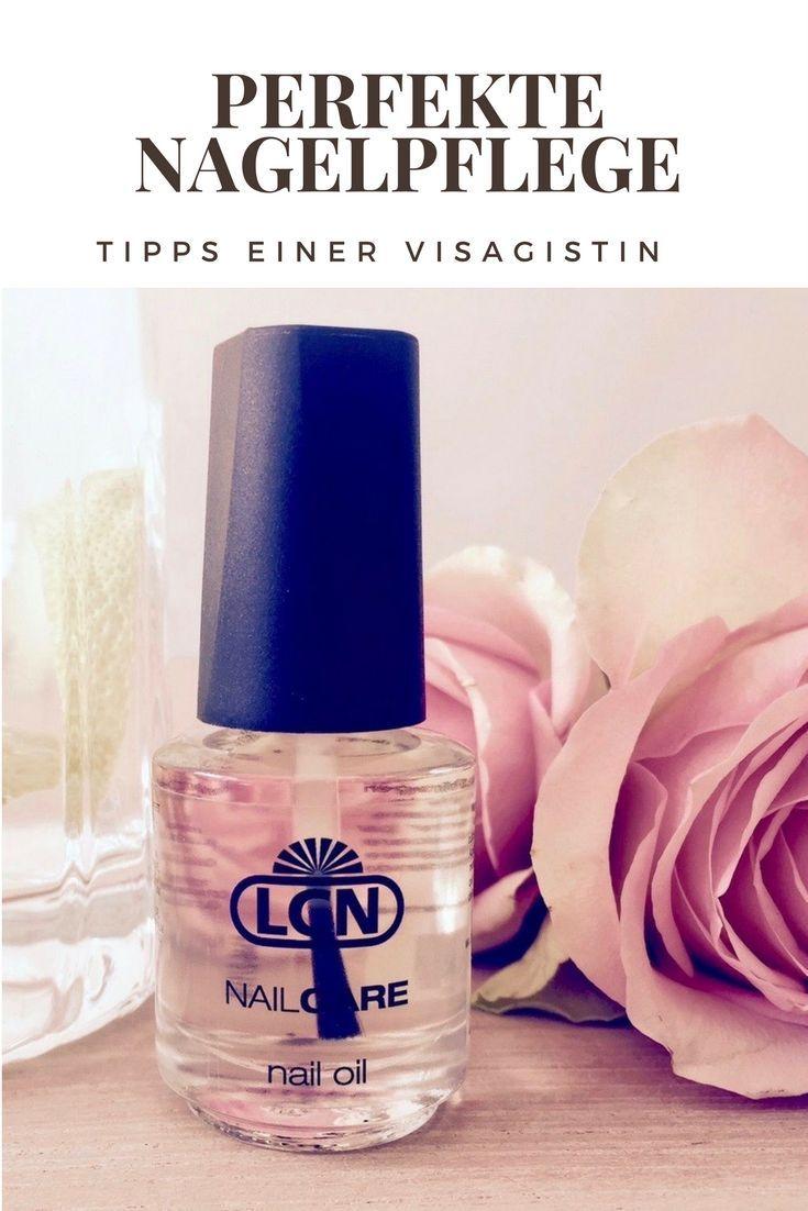 Brauchen Ihre Nagel Besondere Pflege Gestresst Durch Eine Muschelfarbe Manikure Nail Oil Nail Polish Perfume Bottles