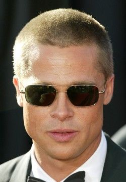 Brad Pitt Short Hair Fight Club