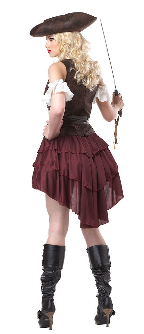 Womens Swashbuckler Adult Costume | Costume Craze