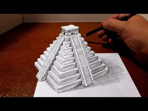 Drawing Torn Lined Paper - Cool Easy Trick Art - YouTube ...