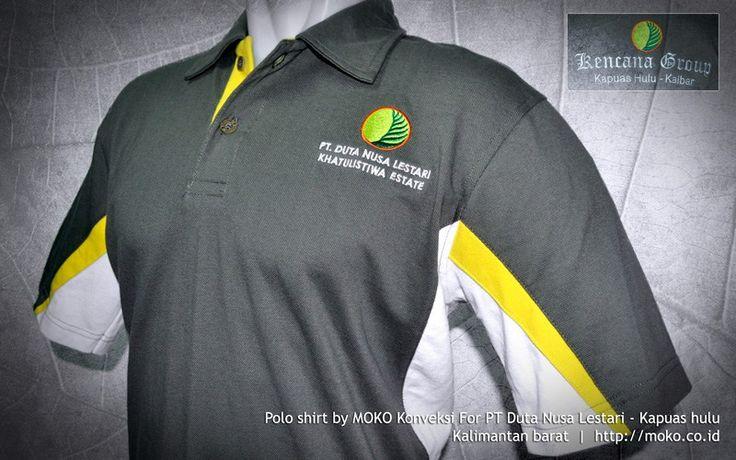 Vendor Polo Shirt PT Duta Nusa Lestari [Kapuas hulu - Kalimantan Barat - Indonesia] by @mokokonveksi   Vendor Polo Shirt yang melayani pembuatan polo shirt yang bisa dipesan secara custom. Anda dapat memilih Desain, Warna, Kain dan Variasi polo shirt yang anda pesan.