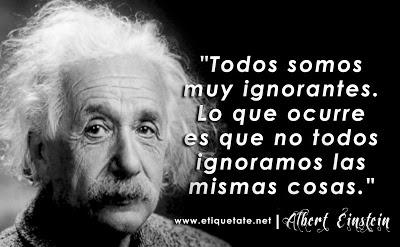 Frases de Reflexión de Albert Einstein