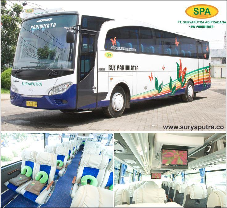 Bus Pariwisata Bandung, Cirebon, Jakarta