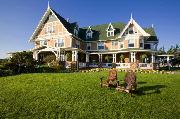 Dalvay-by-the-Sea is a gem. This beautiful inn is located on the north shore of Canada's smallest province, Prince Edward Island, about 30 kilometres by road from Charlottetown, the capital.