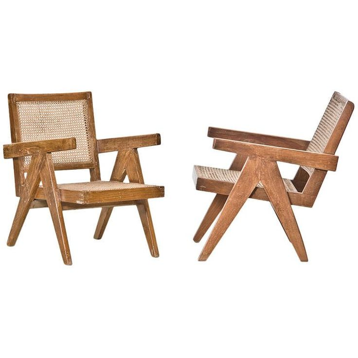Pierre Jeanneret Lounge Chairs (2)