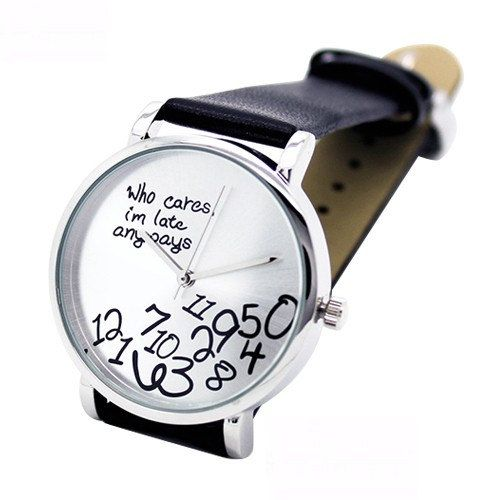 Check out this item in my Etsy shop https://www.etsy.com/listing/253175714/numerals-letters-printed-wrist-watch