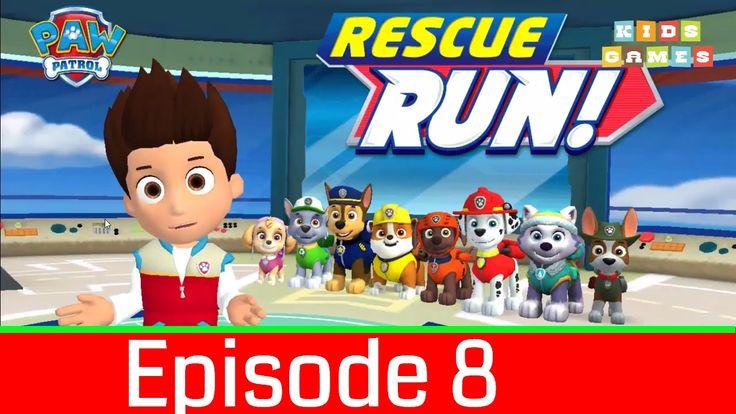 Nickelodeon Games to play online 2017♫Paw Patrol Rescue Run 2017 Episode 8♫ Kids Games