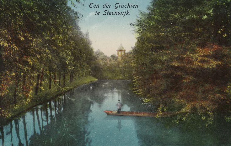 Steenwijk - Een der Grachten