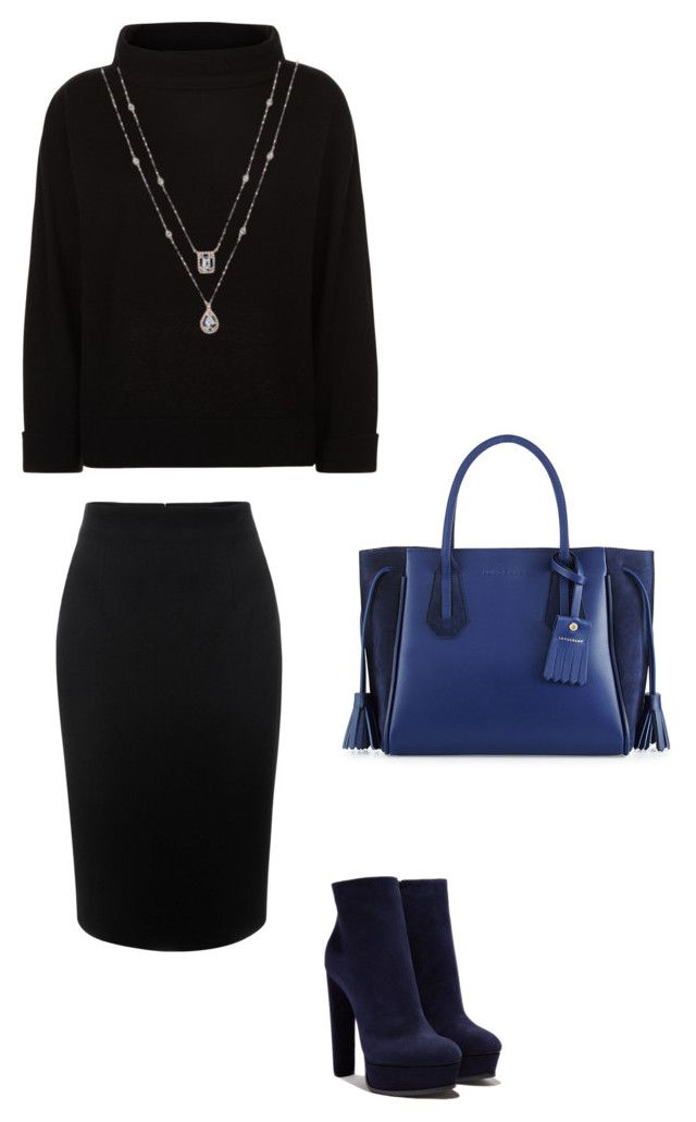 """Sweet"" by wilma-bih on Polyvore featuring Longchamp, Casadei, Alexander McQueen and Jaeger"