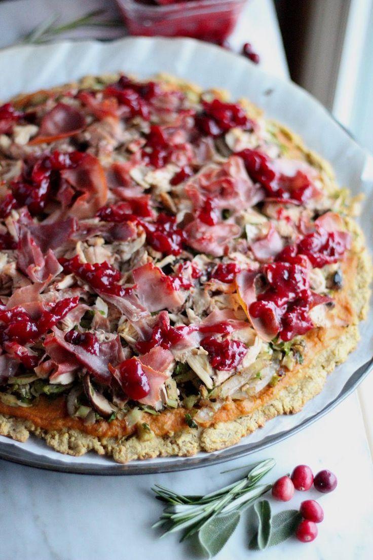 Turkey Cranberry Prosciutto Pizza Aip Paleo Paleorecipesturkey Paleo Recipes Aip Paleo Recipes Prosciutto Pizza