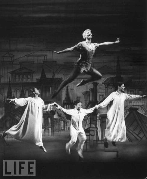Mary Martin version of Peter Pan - we watched this over and over again when I was little.