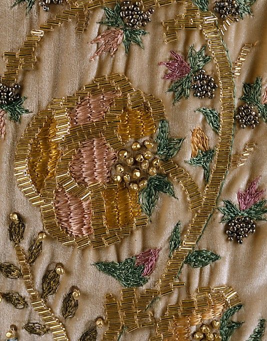 Evening dress House of Patou (French, founded 1919) Designer: Jean Patou (French, 1887–1936) Date: ca. 1925 Culture: French Medium: silk. Detail