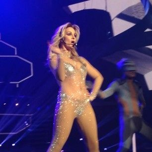 And by God, she is working it out. | Britney Spears Is Not Fat So Shut Up And Sit Down