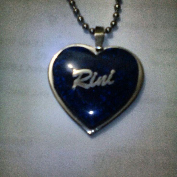 #Orgonite #pendant dengan nama