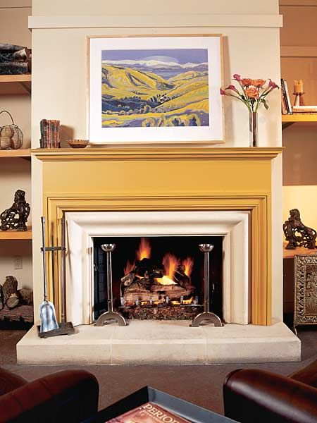 1000 Images About Painted Fireplace Mantels On Pinterest