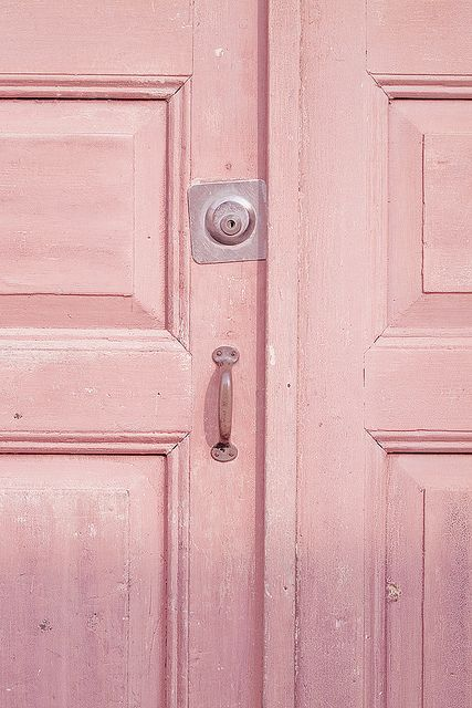 If My Heart Was A House ...I'd like it to be sweet and pink..: Vie En, Pastel Pink, En Rose, La Vie, Color Pink, Baby Pink, Pink Doors