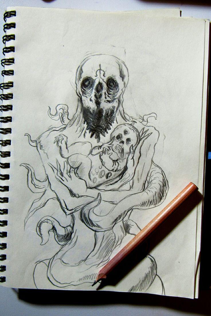 Son of Evil Artwork in progress
