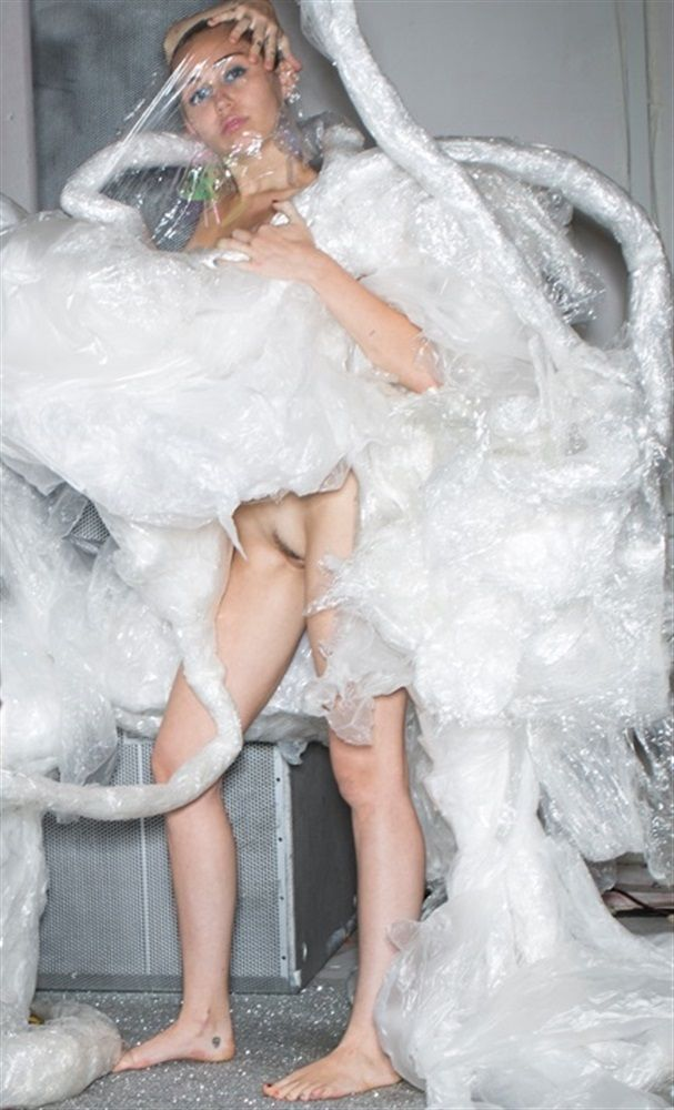 """celebspleasurepics: """"Miley naked newest photoshoot """""""
