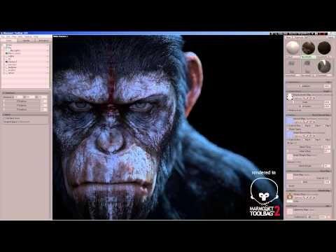 WIP Marmoset Toolbag2 - Caesar