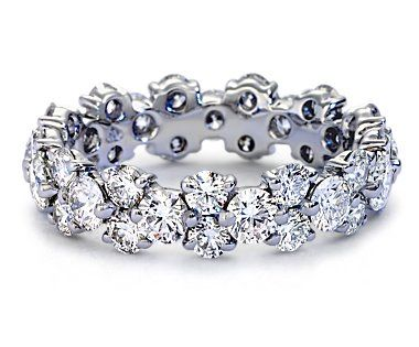 17 Best Ideas About Diamond Anniversary Bands On Pinterest