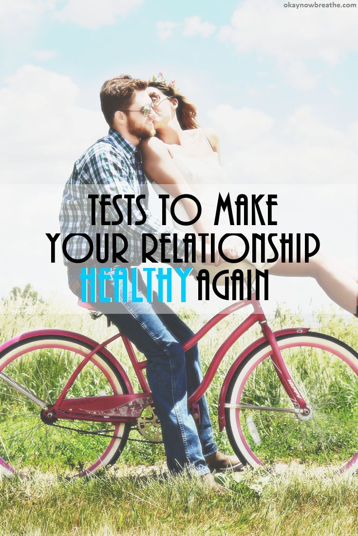 Sometimes the problem isn't either one of you. These two relationship tests will reset your relationship and aim to make it healthy again.